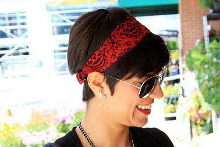 Hair Bandana Pixie Cute