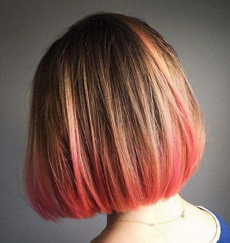 Bob Hair Pink Bronde