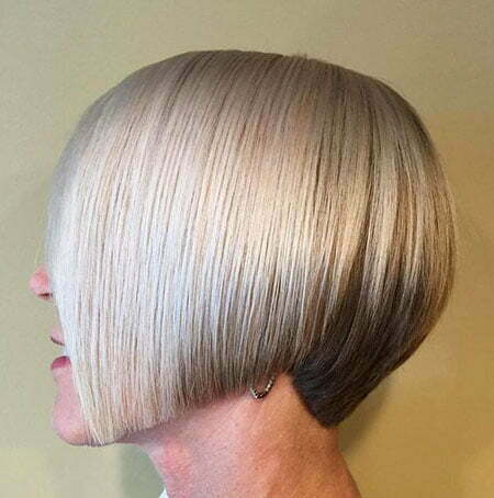 Short Bob for Straight Hair, Straight Bob Women Platinum