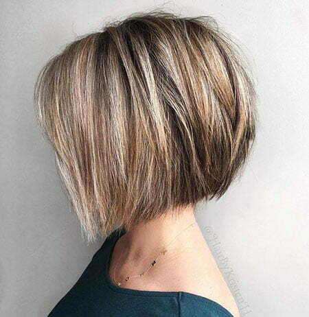 Soft Layers, Bob Layered Blonde Short