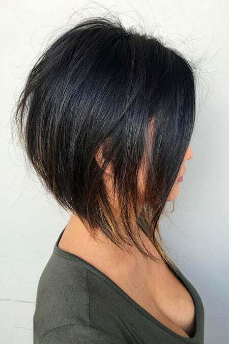 Bob Layered Black Summer