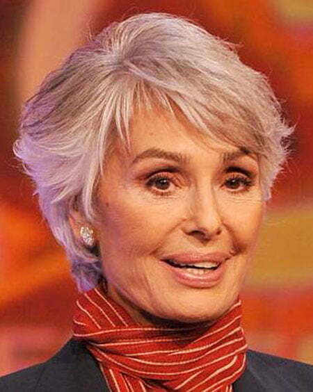 Hair Short Gray Women