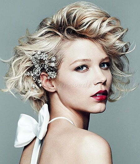 Wedding Hairstyles Short: 23 Bridal Hairstyles For Short Hair