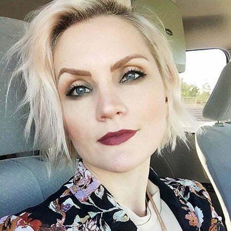 Dark Blonde Platinum Hairtyles