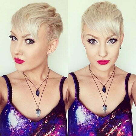 Pixie Blonde Hair Platinum