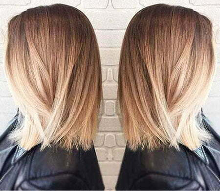 Hair Bob Long Ombre