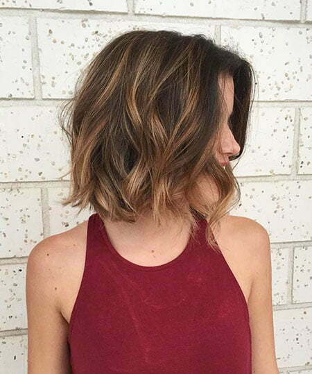 Hair Thin Caramel Balayage