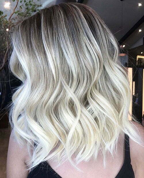 Shadow Root Blonde Hair