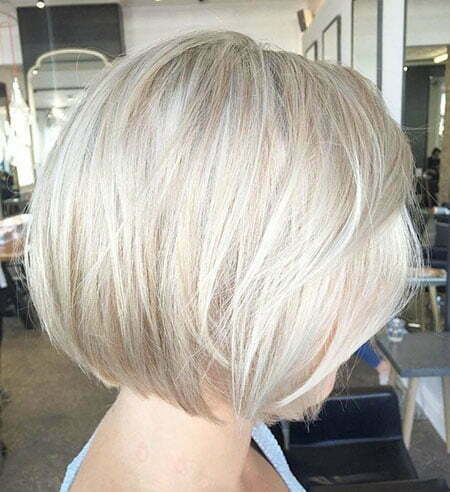 White Blonde Bob, Blonde Bob Ash Layered