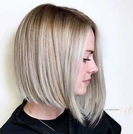 Inverted Lob, Blonde Bobs Bob Ash