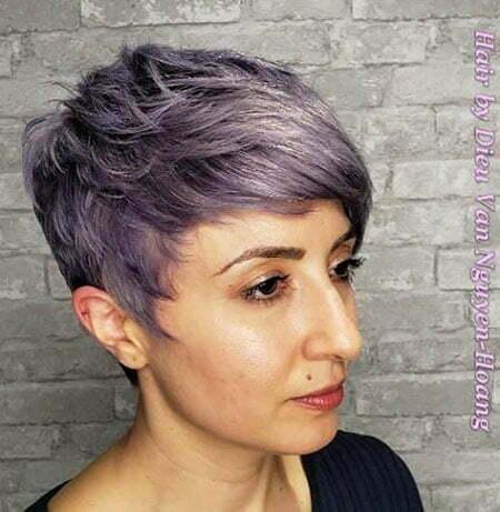 Choppy Pixie, Pixie Choppy Purple Pastel
