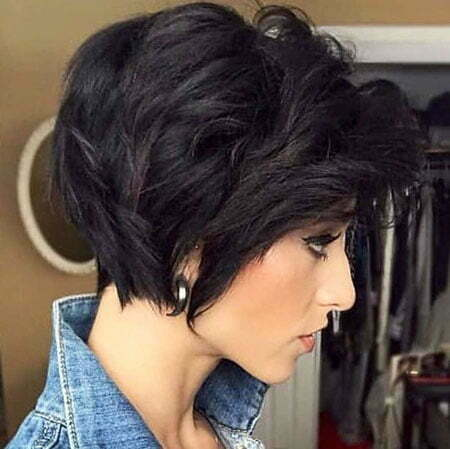 Pixie Bob Cut Trend, Short Bob Layered Shag