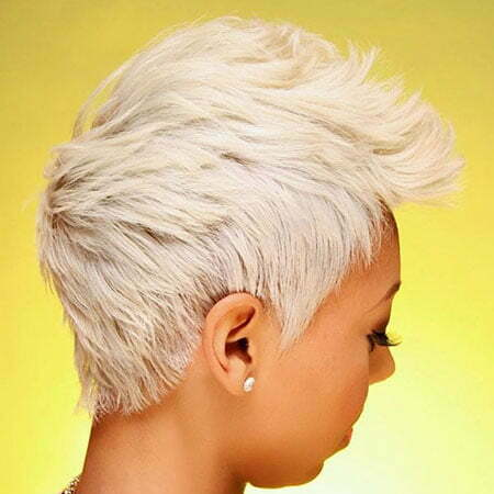 Blonde Pixie, Pixie Blonde Layered Short