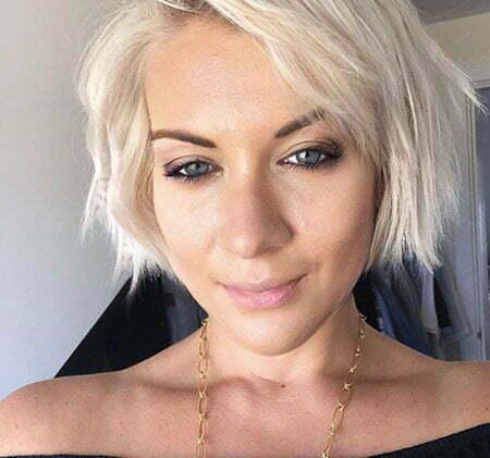 30 Short Platinum Blonde Hairstyles 2018 2019