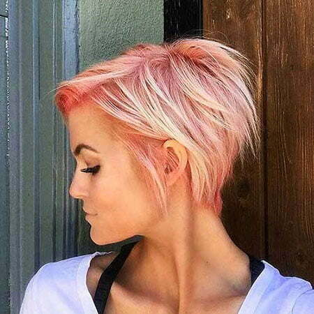 Pixie Blonde Choppy Razored