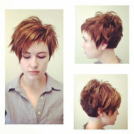 Pixie Hair Short Edgy