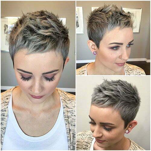 Short Pixie Hair