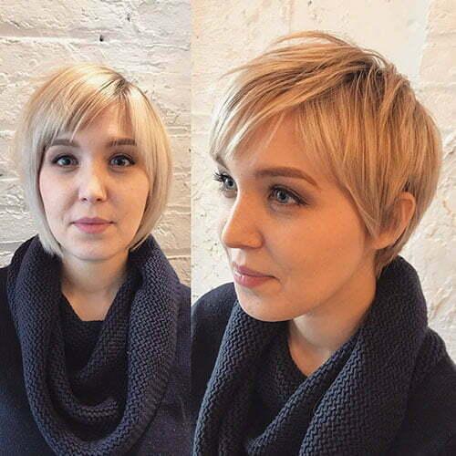 Blonde Pixie Hair