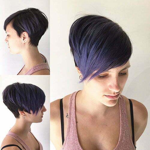 Pixie Fall Hair Color