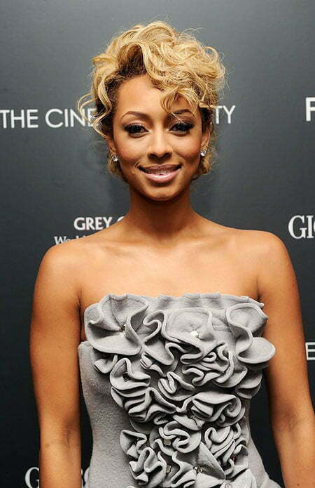 Keri Hilson Short Hairtyle, Keri Hilson 20 Up