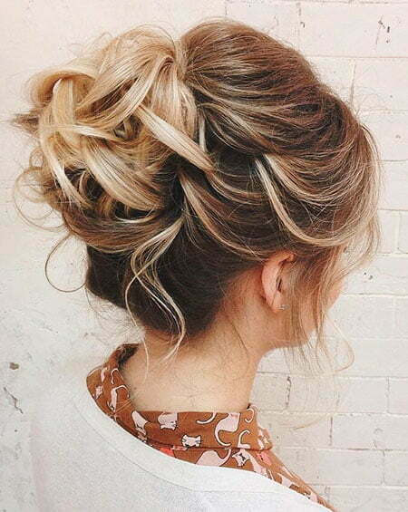 Upstyle for Short Hair, Hair Thin Updos Updo