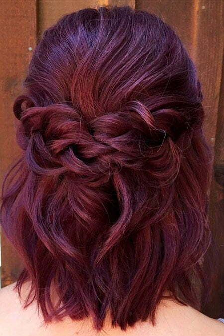 Wedding Hairtyle for Short Hair, Hairtyles Wedding Braids Hair