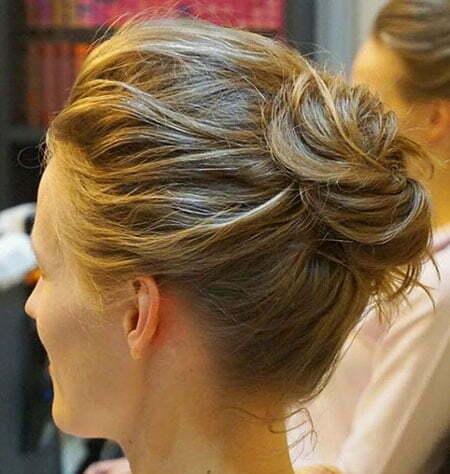 Hair Buns Messy Hairtyles