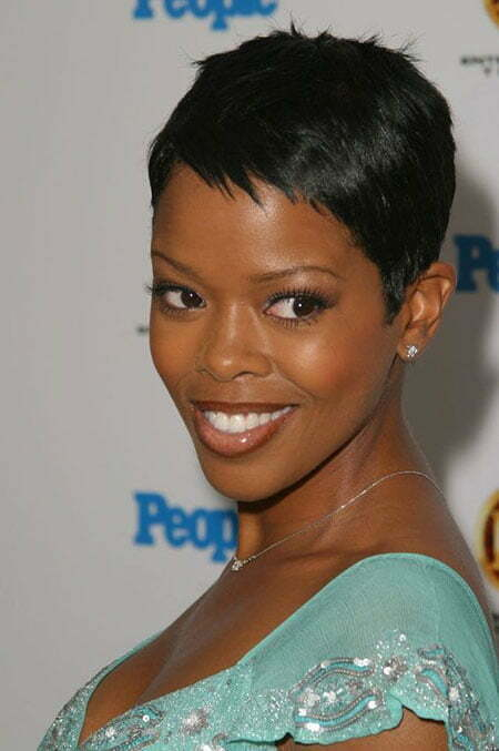 Malinda Williams Short Pixie Hair