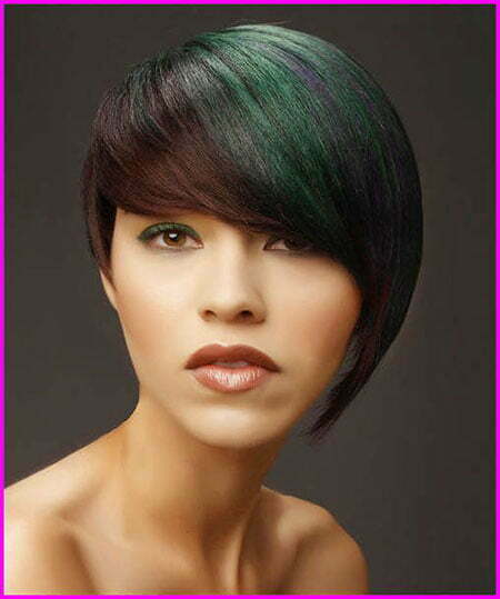 Hair Short Faces Asymmetrical