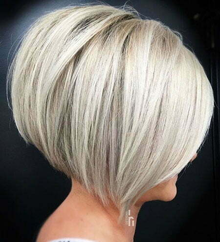 Bob Blonde Silver Inverted