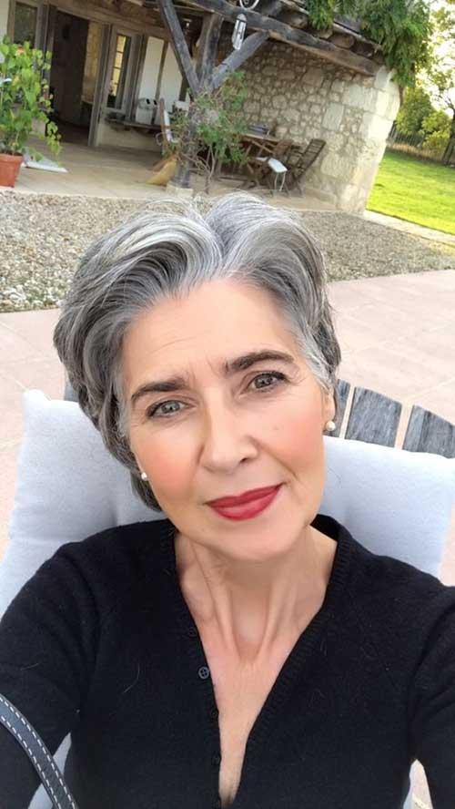 Noble Pixie Haarschnitte Fur Altere Frauen Kurze Frisuren 2017