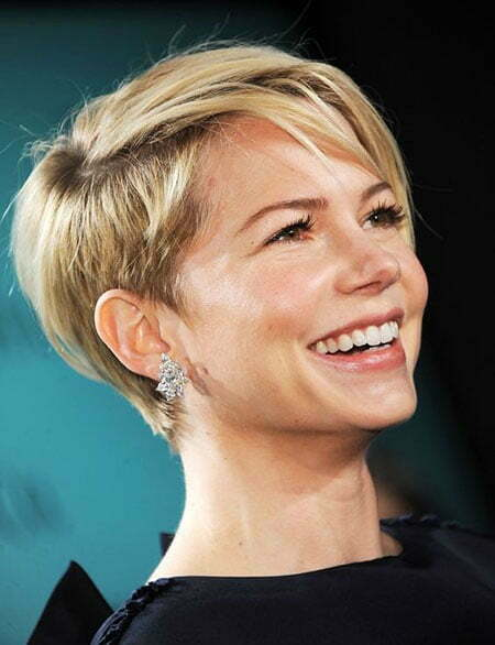 Short Pixie Hair Women