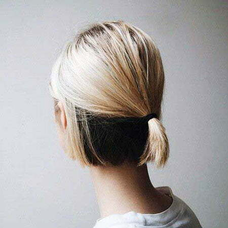 Ponytail Updo Low Length