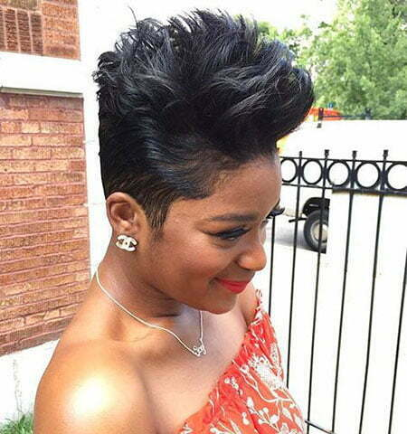 Hair Short Layered Tapered