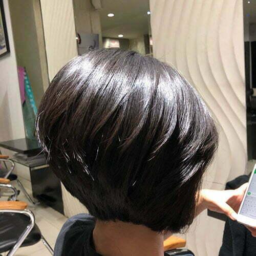 Short Layered Bob Haircut 2018