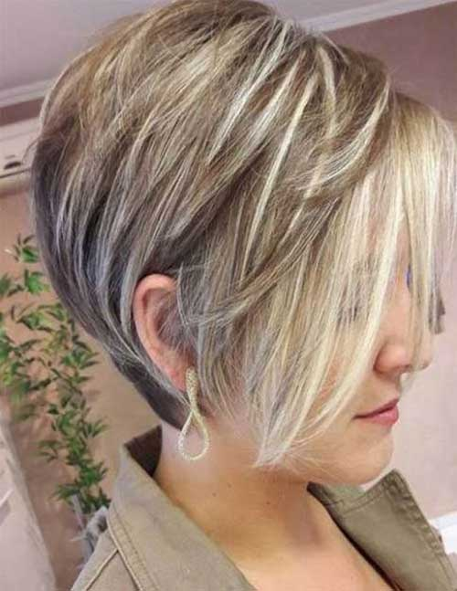 Stacked Short Haircuts-15 &quot;title =&quot; 15.Stacked Short Haircut &quot;/&gt;</a></p><h2>16. Weiße, blonde Haarfarbe</h2><p> <a href=