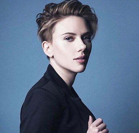 Scarlett Johansson Hairtyles Mens
