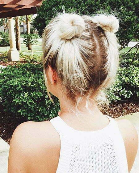Buns Hairtyles Cute Hair