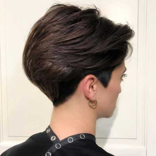 Stacked Short Haircuts-18 &quot;title =&quot; 18.Stacked Short Haircut &quot;/&gt;</a></p><h2>19. Pixie mit Highlights geschnitten</h2><p> <a href=