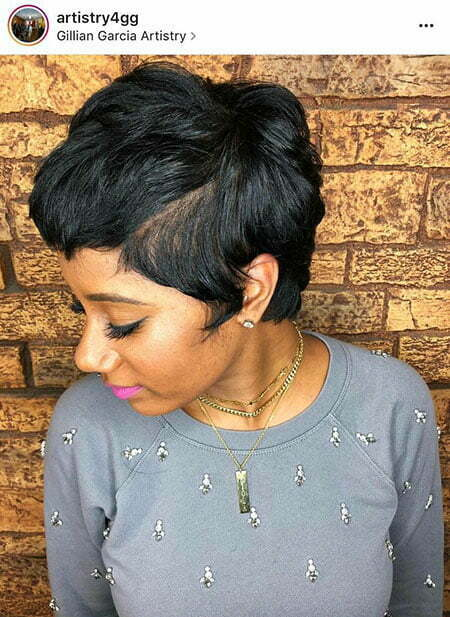 Pixie Hair Relaxed Short