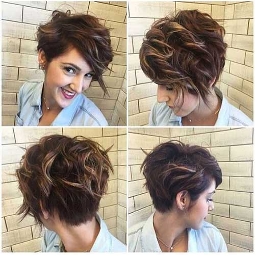 Stacked Short Haircuts-19 &quot;title =&quot; 19.Stacked Short Haircut &quot;/&gt;</a></p><h2>20. Modernes blondes Haar</h2><p> <a href=