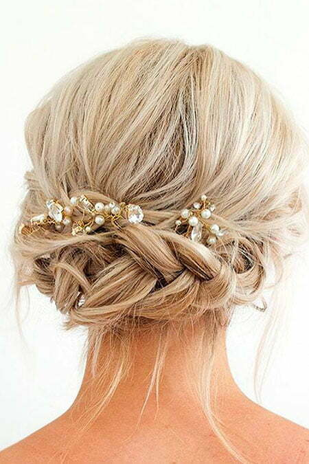 Bridal Braided Hair, Hair Homecoming Comb Wedding