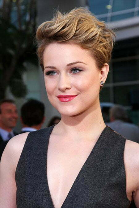 Cute Face Shape Haircut, Pixie Face Rachel Short