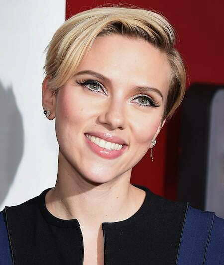 Short Scarlett Johansson Pixie