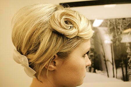 Wedding Upstyles Hairtyles Chignon