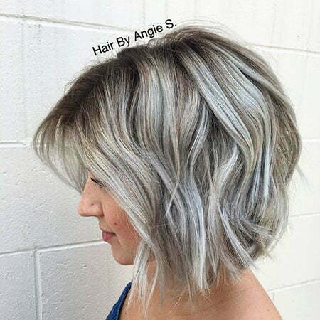 Silver Bob Grey Color