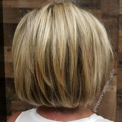 Short Blonde Highlights Hair