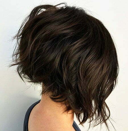 Short Bob Inverted Hairtyles