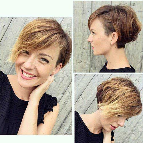 Kurze Haarschnitte für Frauen-22 &quot;title =&quot; 22. Kurze Haarschnitte &quot;/&gt;</a></p><h2>23. Asymmetrisches kurzes Haar</h2><p> <a href=