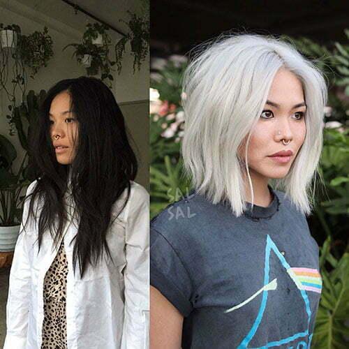 Short Layered Asian Hair